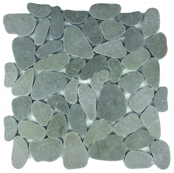 Reconstituted Grey XL Pebble Stone