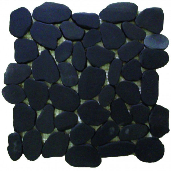 Sliced Pebbles XL Black S