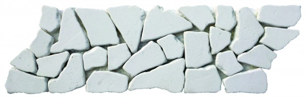 Mini Opus Reconstituted White Stone Border