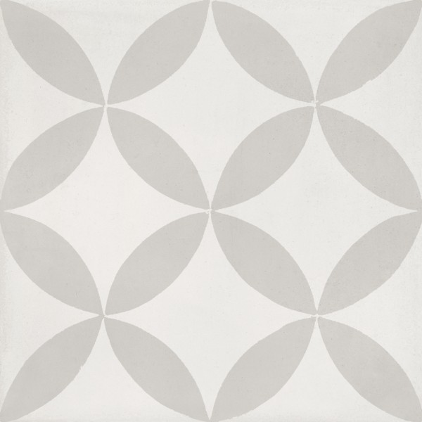 CEMENT TILE DÉCOR 2 MODERN OFF WHITE LIGHT GREY