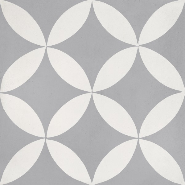 CEMENT TILE DÉCOR 3 MODERN DARK GREY OFF WHITE