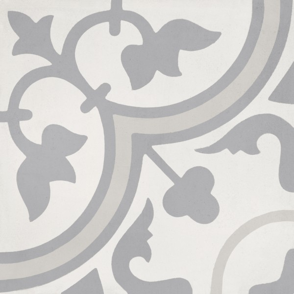 CEMENT TILE DÉCOR 4 CLASSIC OFF WHITE DARK GREY LIGHT GREY