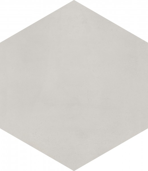 CEMENT TILE HEXAGON LIGHT GREY C101