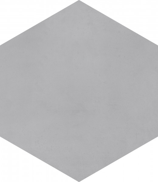 CEMENT TILE HEXAGON UNI DARK GREY C31